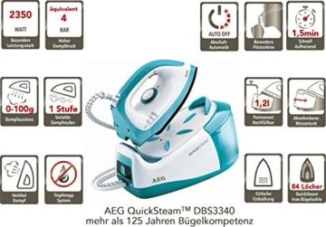 AEG QuickSteam DBS 3340